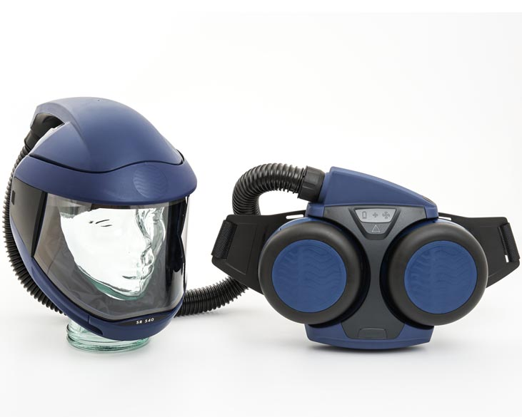 Fan-Assisted Breathing Apparatus